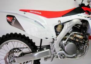 RP výfukový systém ovál carbon/titan - Honda CRF250R 2014-2015 - 5