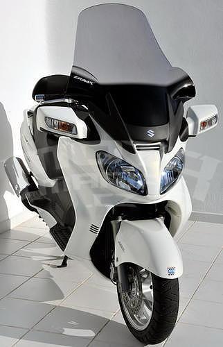 Ermax turistické plexi 81cm (+18cm) - Suzuki Burgman 650 2002-2011 - 5