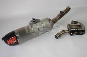 RP výfukový systém ovál carbon/titan - Honda CRF250R 2014-2015 - 6