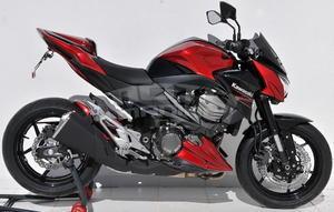 Ermax Sport plexi větrný štítek 30cm - Kawasaki Z800 2013-2016 - 6