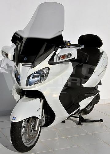 Ermax turistické plexi 81cm (+18cm) - Suzuki Burgman 650 2002-2011 - 6