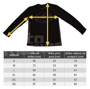 Motorcycles Performance Black Edition pánské triko - 7
