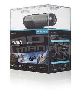 Kitvision Rush HD100W voděodolná sportovní kamera, full HD, Wi-Fi, stříbrná - 7