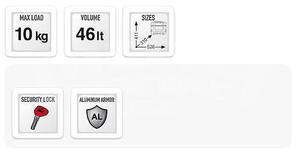 Givi TRK46B Trekker Black Line, 46 ltr. - 7