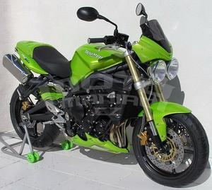 Ermax kryt motoru - Triumph Street Triple 2007-2011, bez laku - 7