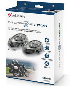 CellularLine Interphone Tour Twin Pack - 7