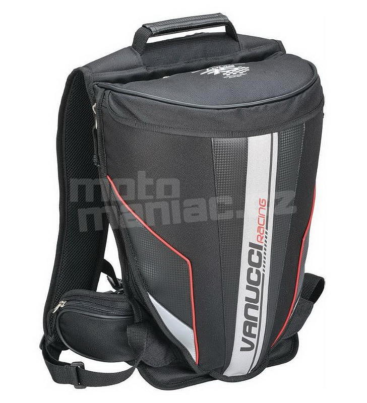 28eb9874d8 Vanucci Racing Backpack - MotoManiac.cz