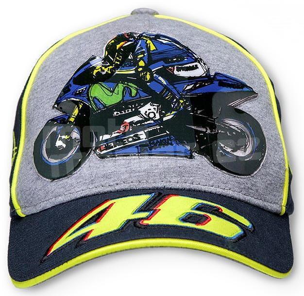 06103820774 Valentino Rossi VR46 dětská kšiltovka modrá - e-shop pro motorkáře ...