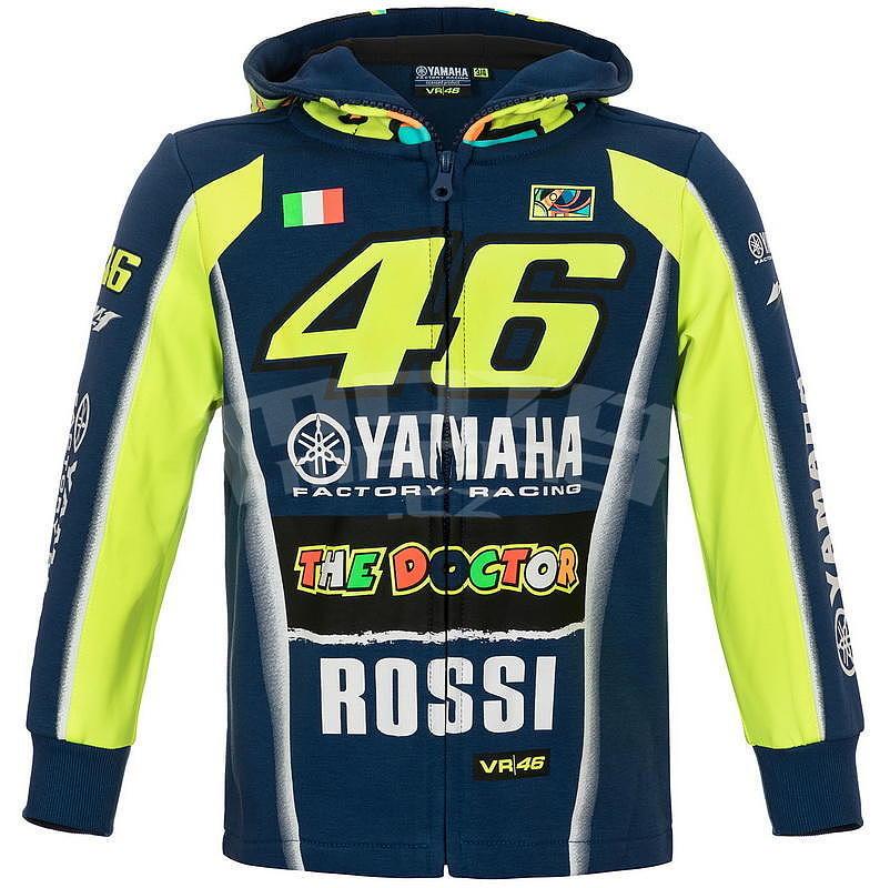 Valentino Rossi VR46 dětská mikina - edice Yamaha 11-12 let - e-shop ... 1bfd2047972