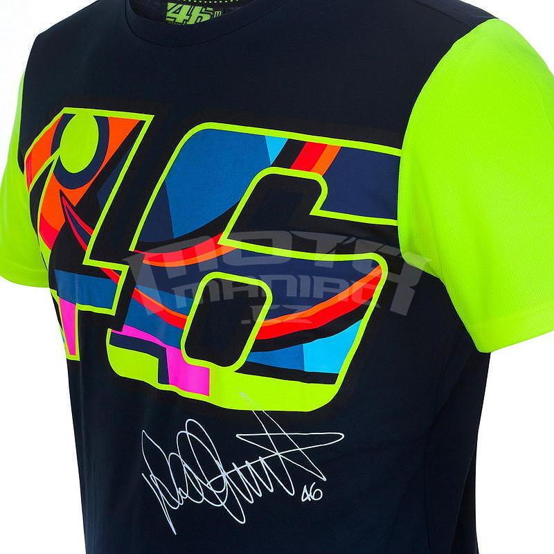 Valentino Rossi VR46 triko pánské - modré - e-shop pro motorkáře ... fb738785fd