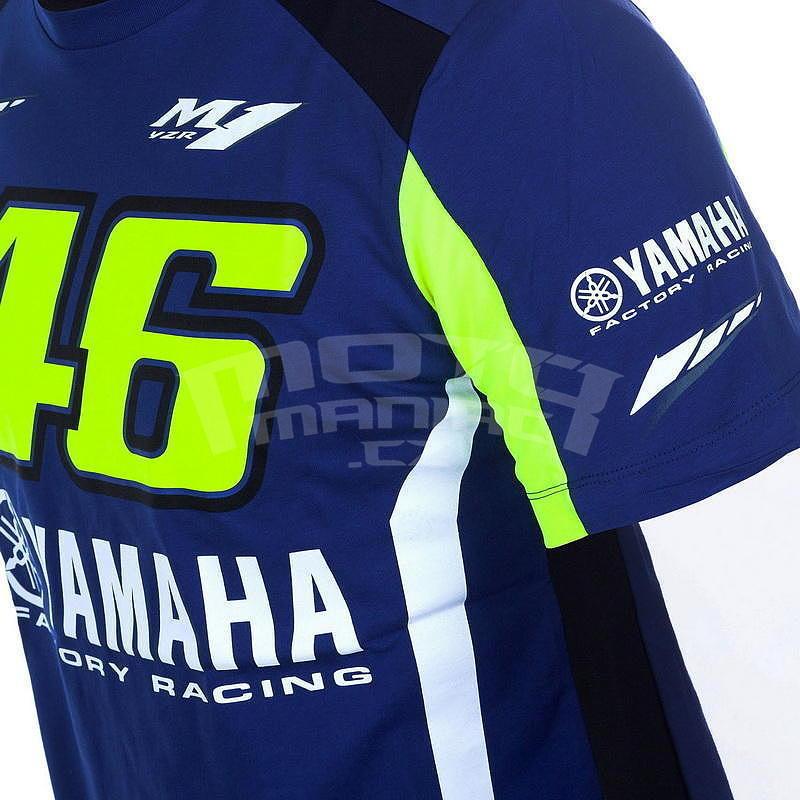 Valentino Rossi VR46 Yamaha triko pánské - e-shop pro motorkáře ... e6a26c5883