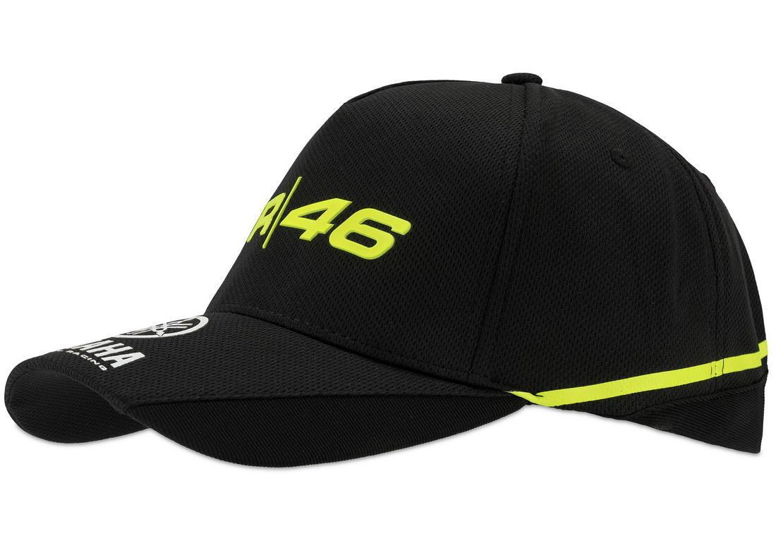 6688f3b7af4 Valentino Rossi VR46 kšiltovka - edice Yamaha Black - e-shop pro ...