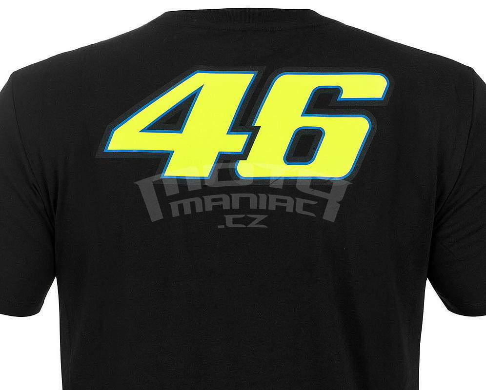 Valentino Rossi VR46 pánské triko S - e-shop pro motorkáře MotoManiac.cz 74f642c8f1